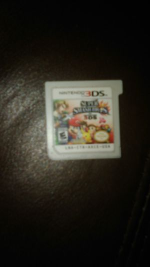 Nintendo 3ds Super Smash Bros for Sale in Clovis, CA