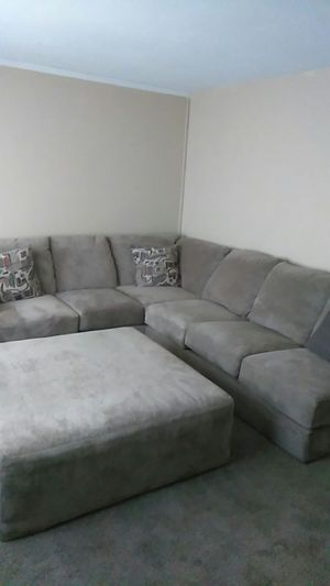 New. Sectional couch and ottoman in store $5,000 and on sale for $2,500 my price $ 1500 firm price 15 for Sale in Columbus, OH