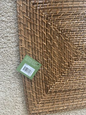 Brand new set of four rattan placemats. For $35. They would look lovely on your kitchen table. for Sale for sale  Decatur, GA