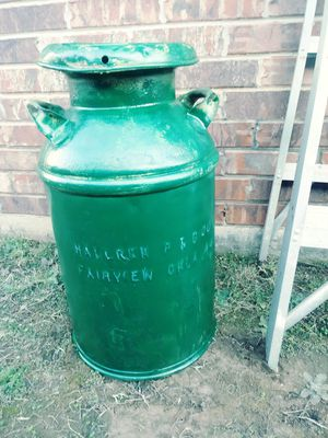 Vintage Milk Container for Sale in Moore, OK