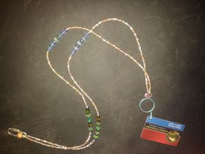 Lucky Beaded Casino Card Chain for Sale in Willows, CA