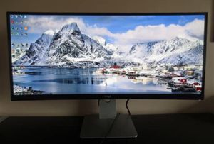 CURVED LED High definition HD monitor WQHD for Sale in East Hartford, CT