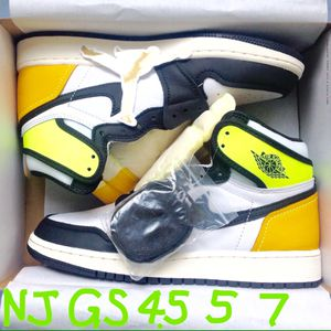 Nike Air Jordan 1 Retro High OG Volt Gold GS Youth Kid Boy Girl Size 4.5y / Women 6 ⭐️ 5y / W 6.5 ⭐ 7Y /M 7 W 8.5 ⭐️ DS New Xtra Laces Sticker Receipt for Sale in Evesham Township, NJ