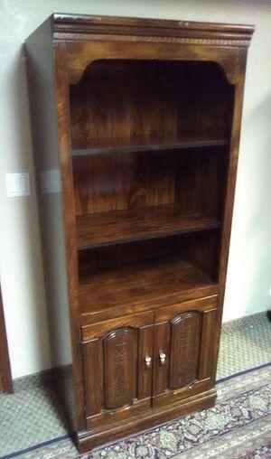Two door book case for Sale in Tempe, AZ