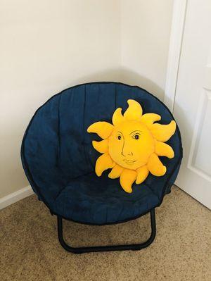 Kids Folding Saucer Chair for Sale in Ashburn, VA