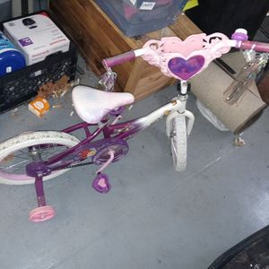 Little Girls Bike With Training Wheels for Sale in Indianapolis, IN