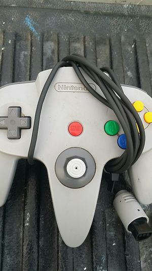 Gray n64 controller for Sale in Montebello, CA