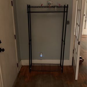 Clothes rack Today only for Sale in Los Angeles, CA