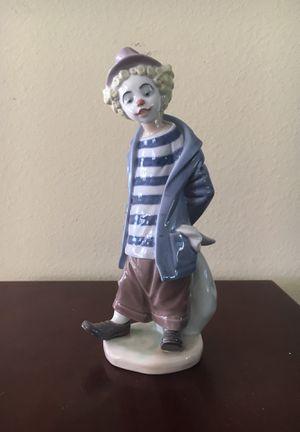 Lladro porcelin figurine: little traveler clown for Sale in San Diego, CA