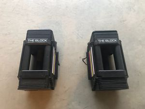 Dumbbells Powerblock for Sale in Rancho Cucamonga, CA