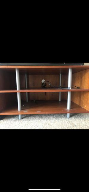 TV stand with shelves for Sale in Chicago, IL