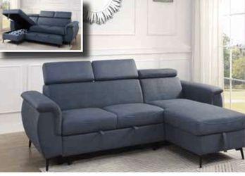 Sleeper sectional sofa 😱🥰 very nice ! Beautiful 💓 for Sale in Windermere,  FL