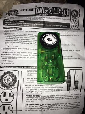 Brand new reptile timer for Sale in Poway, CA