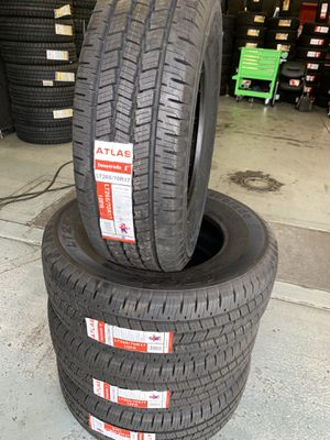 265/70/17 New set of tires installed for Sale in Ontario, CA