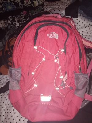 NORTHFACE ORANGE PEACH COLORED BACKPACK for Sale in St. Louis, MO