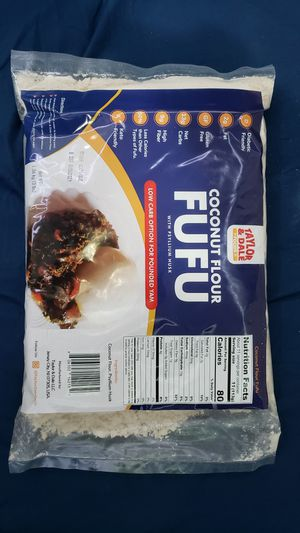 Coconut Flour Fufu - 1.36kg - 3lb for Sale in Queens, NY