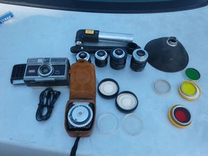 Kodak instamagic 35 mm camera with extras for Sale in Roseville, CA
