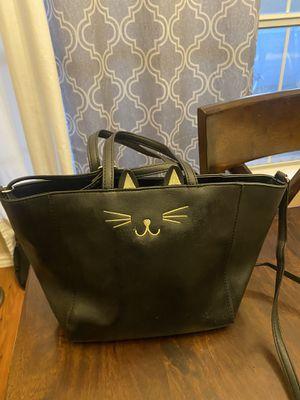 cat purse / handbag black color for Sale in Flower Mound, TX
