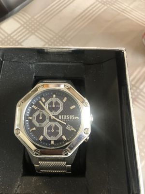 Brand new Versace men's watch. Retails for over $450 for Sale in Fowler, CA