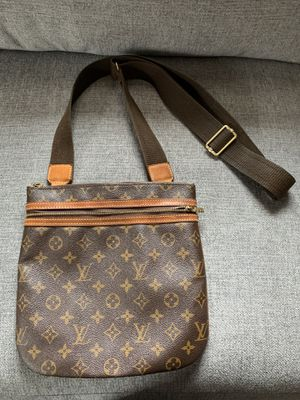 Louis Vuitton Pochette Bosphore Brown Leather Cross Body Bag for Sale in Alexandria, VA