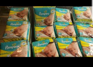 Pampers size 1 for Sale in Mission Viejo, CA