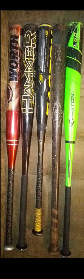 Bats sold individually for Sale in Phoenix, AZ