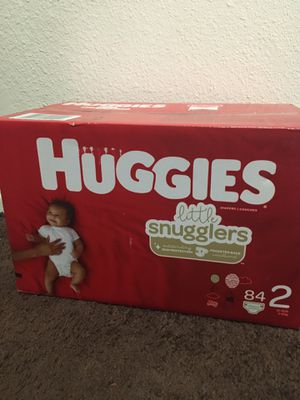 $20 huggies , size 2 for Sale in Lancaster, CA