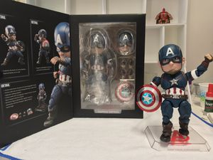 EAA 011 Captain America Egg Attack Action Figure for Sale in Union City, CA