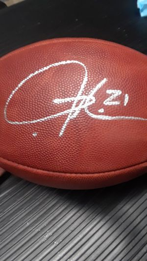 SAN DIEGO CHARGERS LADAINIAN TOMLINSON OFFICIAL WILSON NFL FOOTBALL for Sale in Clovis, CA