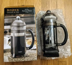 BonJour Maximus French Press - Polished Stainless 8-Cup for Sale in Portland, OR