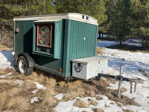 Custom Built travel/storage trailer for Sale in La Pine, OR