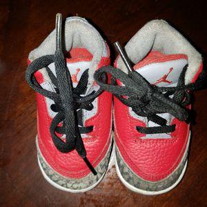 Nike Boy's Jordan 3 Retro SE Shoe Fire Red CQ0489-600 4Cn for Sale in Racine, WI