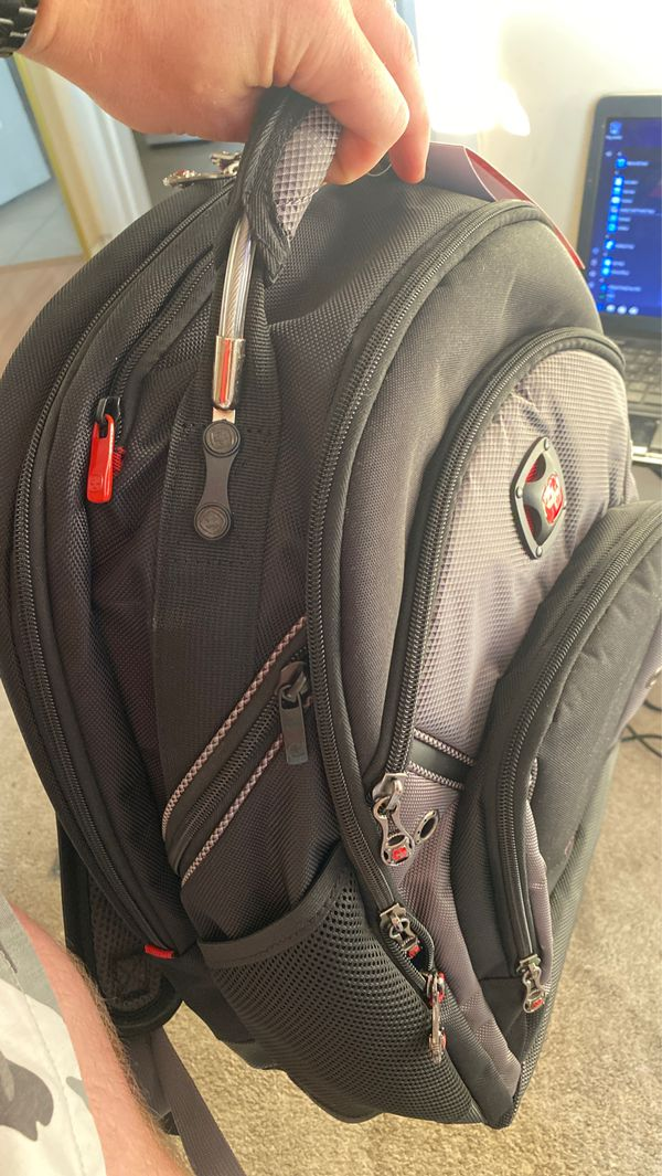 "Swiss Synergy Pro BackPack (holds ""16 laptop) brand new"