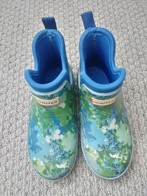Hunter Kids Rain Boots little kids 12. Blue Green for Sale in La Mirada, CA