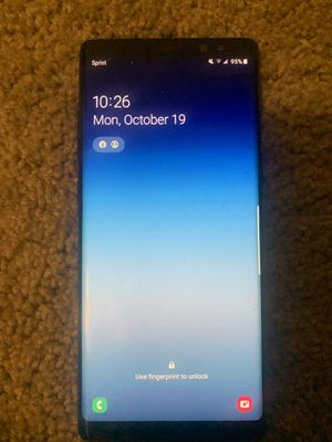 Samsung Galaxy Note 8 | 64GB | Sprint phone for Sale in Tempe, AZ