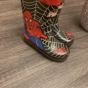 Spiderman Snow/Rain Boots Size 10 for Sale in Aliso Viejo, CA