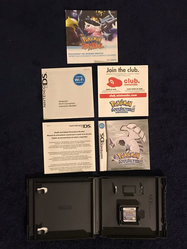 Pokemon Soul Silver for DS/3DS