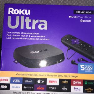 BRAND NEW ROKU ULTRA for Sale in Durham, NC