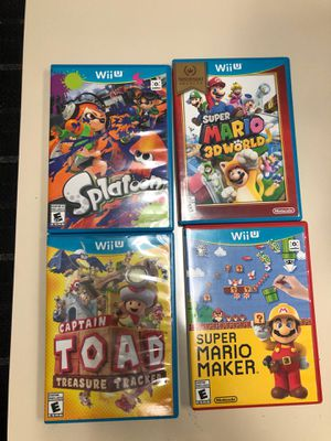 Wii U Nintendo for Sale in Des Plaines, IL