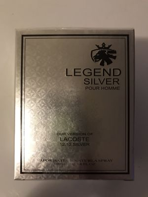 LEGEND SILVER FRAGRANCE FOR MEN Our Version Of LACOSTE 12.12 SILVER for Sale in Dallas, TX