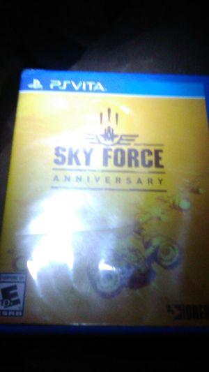 PS Vita sky force anniversary for Sale in El Segundo, CA