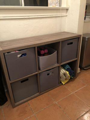 """6-Cube Organizer Shelf 13"""" for Sale in Seal Beach, CA"""