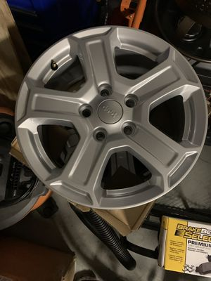 "Jeep JL wheels 17"" x 7.5"", 5x5 pattern (4 wheels) for Sale in Tampa, FL"