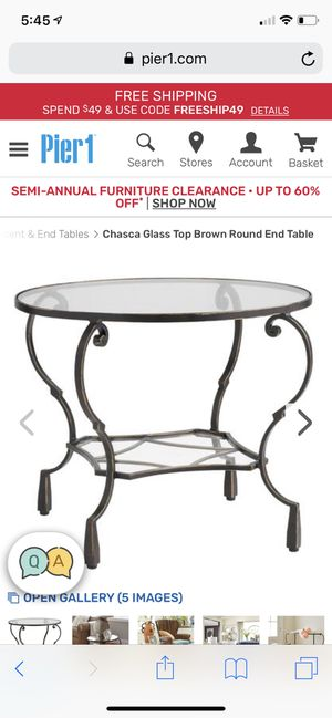 Gorgeous End or Side Table for Sale in Seattle, WA