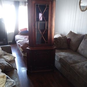 Two Piece Wooden Cabnet for Sale in Glendale, AZ