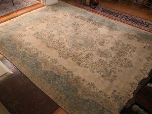 """Antique Persian Kermanshah, Kerman Rug or Carpet - 14' 4"""" long x 9' 9"""" wide for Sale in Bellingham, MA"""