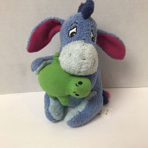"Disney Store Eeyore with Turtle 8"" Plush Stuffed Animal Collectible for Sale in Avon Lake, OH"