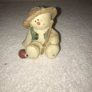 "1998 Sarah's Attic SNOWONDERS August ""Bobber"" 6407 Snowman Figurine for Sale in Port Richey, FL"