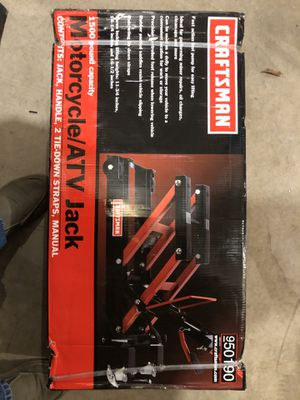 Craftsman Motorcycle/ATV jack for Sale in Olympia, WA