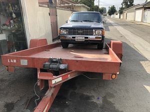 Car trailer tilt for Sale in Whittier, CA